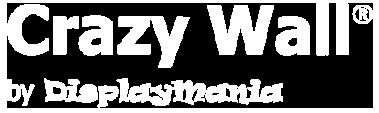 logotipo crazywall monocromo