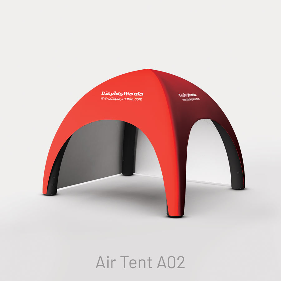 Carpa inflable impresa