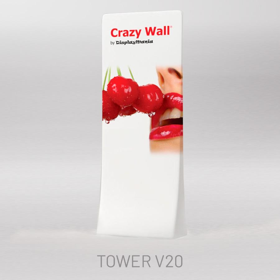 Torre grande portátil impres