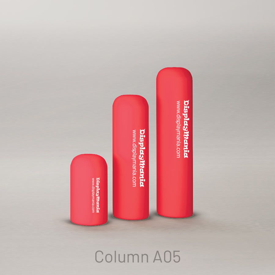 Printed air columns